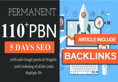 110+ ULTIMATE PBN LISTING, 5 DAYS PACKAGE