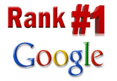 10 Days SEO to Rank First in Google with 50 PR10 Niche Backlinks.