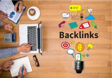 Create 30 High Quality SEO Backlinks,For You