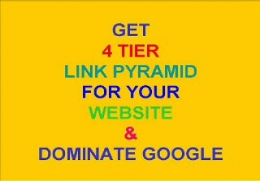 create a 3 Tier Google Penguin Panda Safe Link Pyramid with 10 High PR Web 2 Properties, 40 Social Bookmarks and 100 High Pr Wikilinks........
