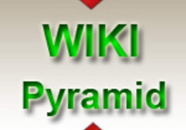 build Google smasher Link Pyramid of 2500 wiki bcklinks on 1500 unique domains .......................................