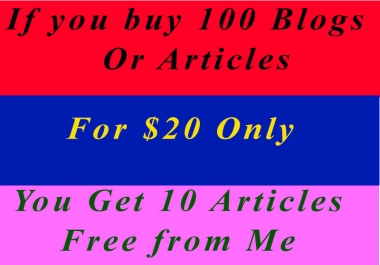 Win Other Offer With One In Article Writing