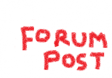 Forum Profile with SIGNATURE LINKS for huge TRAFFIC