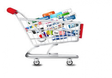 e-commerce webstore eshop 100 Products Entry