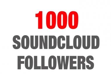 Super Fast 1000+ SOUNDCLOUD Followers Promotion
