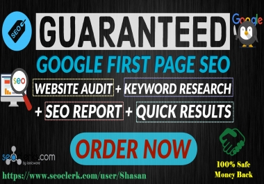 Promote Your Site On Google 1st Page Guaranteed