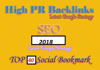 Manually Create 30 PR10-PR7 Social Bookmarking Backlinks for high Ranking
