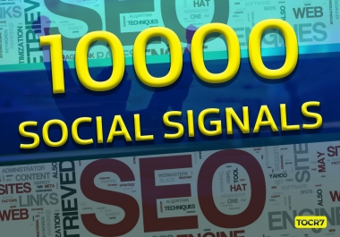 High Authority PR 10000 Powerful Social Signals with super fast speed