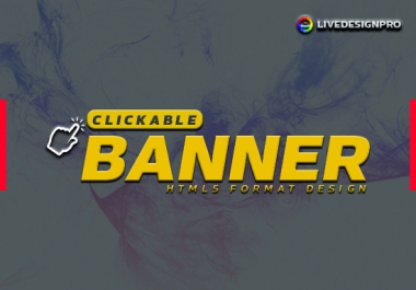 Design Clickable HTML Banner Ads