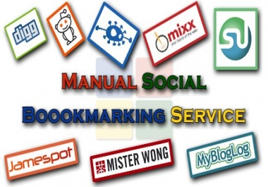 TOP 25 Social Bookmarking - Manual Work Full Report
