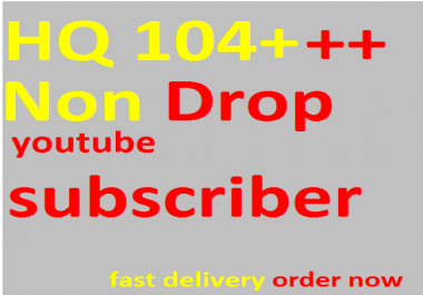 Give Safe 112+--120+  Real Subscribers Youtub. on Social network channel