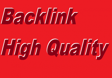 20 High Quality Backlinks Manually Created