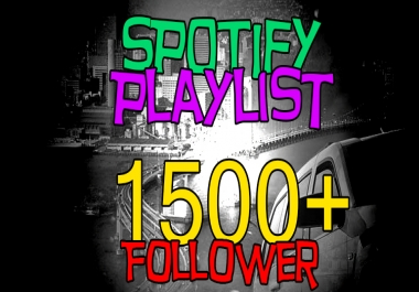 Add your Song to 1500+ Playlist