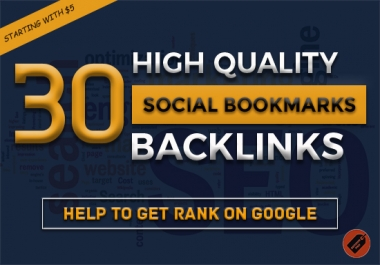Do 30 Social Bookmarking SEO Backlinks Get Alexa Rank