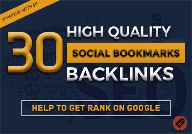 Do 30 Social Bookmarking SEO Backlinks Get Alexa Rank
