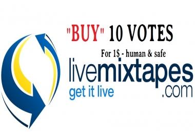 15 human votes for livemixtapes