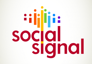 Build 15000 High Quality Social Signals Quality From The Best Social media Website