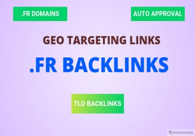Create 100+ Backlinks On French Fr Blog Domains