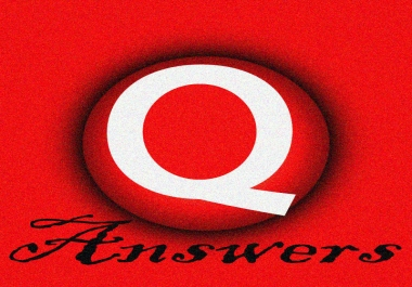 Create 60 Quora Answers promotion backlinks