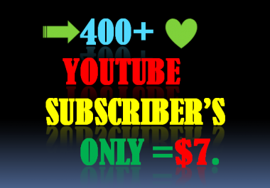 400+ STABLE HQ, YOUTUBE SUBSCRIBER'S