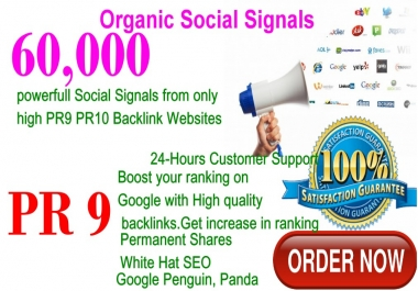 Get promote 60,000 High Repin Pinterest Share social signals PR9 boost SEO increase your site rank