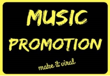 Genuine Music promotion with 100K real audience