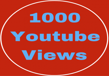 1k,1000 NON-DROPS YOUTUBE VIEWS OR 150 YOUTUBE SUBSCRIBERS VERY SHORT TIME DELIVERY