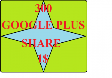 Add 300 up google plus share to your video, very fast delivery