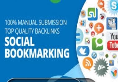 Do 15 High Quality Social Bookmarking backlink