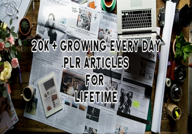 give you 20,000 + PLR articles on every possible niche