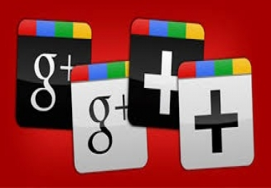 Provide you 100+ Google plus Followers your google account