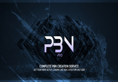 PBN Creation Service