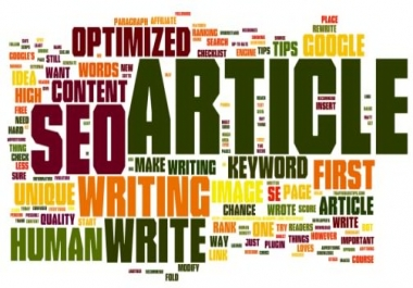 500 words SEO optimized well researched articles,blog post, E-book and website content