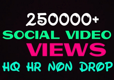 Add 250000+ Social Promotion Instantly and Professionally