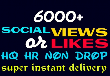Add 6000+ Social Promotion Instantly and Professionally