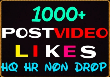 Provide 1000+ HQ,Non Drop Social Post or Photo Promotion Instantly