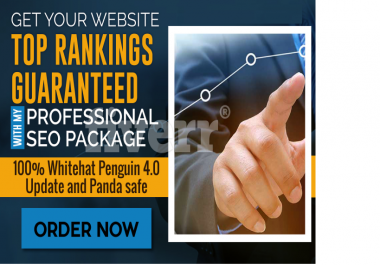 Try To Get Your Website Top Google Rankings With My Professional SEO Package