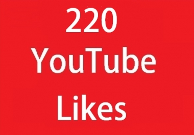 220+ Real You'Tube video Like's very fast add