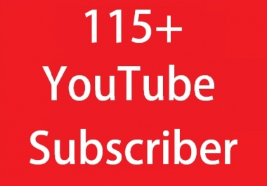 Add 115+ YouTube Subscriber from USA, France And English