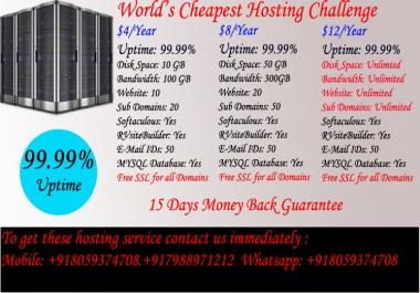 World's Cheapest Hosting