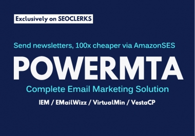 install powermta and interspire email marketer on your vps