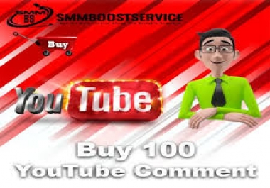 Get Now 100+ Real YT Custom CMMT Non Drop Life Time Guaranteed Just