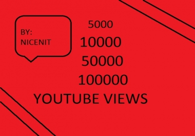 fast 100000 Youtube Views