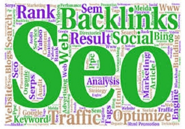 Do 500 High Quality Backlinks, 200 Social Backlinks, 30 Directory Submission (5 URLS)