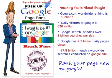 RANK FIRST/FAST ON GOOGLE PAGE - speedy delivery with limited time offer