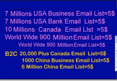 Email List In Eye catching List