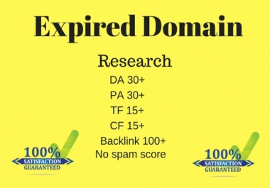 find expired domain for pbn
