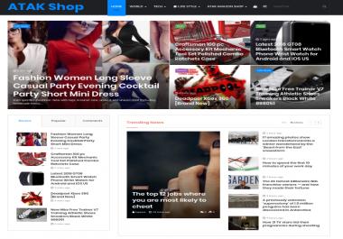 wordpress webpage creation