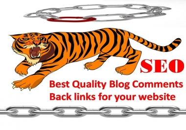 5 high TF CF & DA PA Blog Comments backlinks