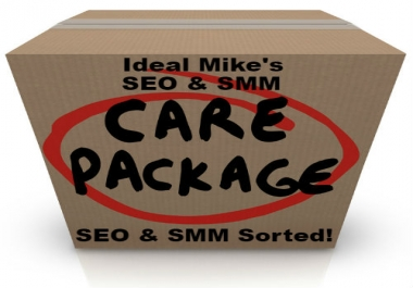 IdealMike's SEO Ranking & SMM Marketing & Promotion Care Package